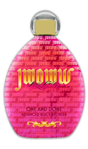 jwoww one and done tanning lotion