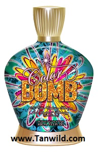 Color Bomb Tanning Lotion by Designer Skin