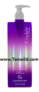 Cypher Platinum Tan Extender by Califrnia Tan