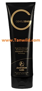 Gentleman Black Bronzer Tanning Lotion