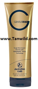 Gentleman Natural Bronzer Tanning Lotion