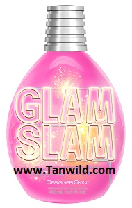 Glam Slam Tanning Lotion by Designer Skin