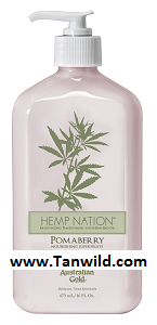 Hemp Nation Pomaberry Tan Extender Moisturizer