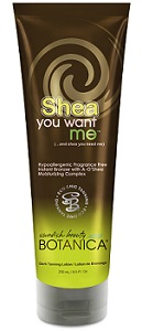 Shea You Want Me Tanning Lotion